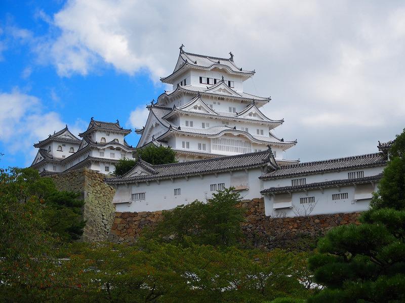 シルバーウィークの姫路城