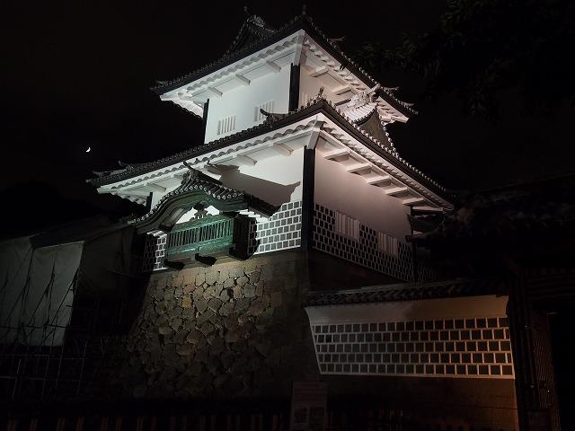 金沢城石川門 夜景