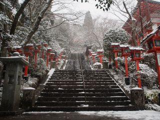 鞍馬寺の階段