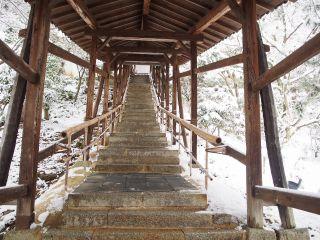 雪の高台寺 臥龍廊